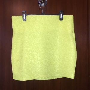 BCBGeneration Skirts - Lime Green BCBG Generation Mini Skirt